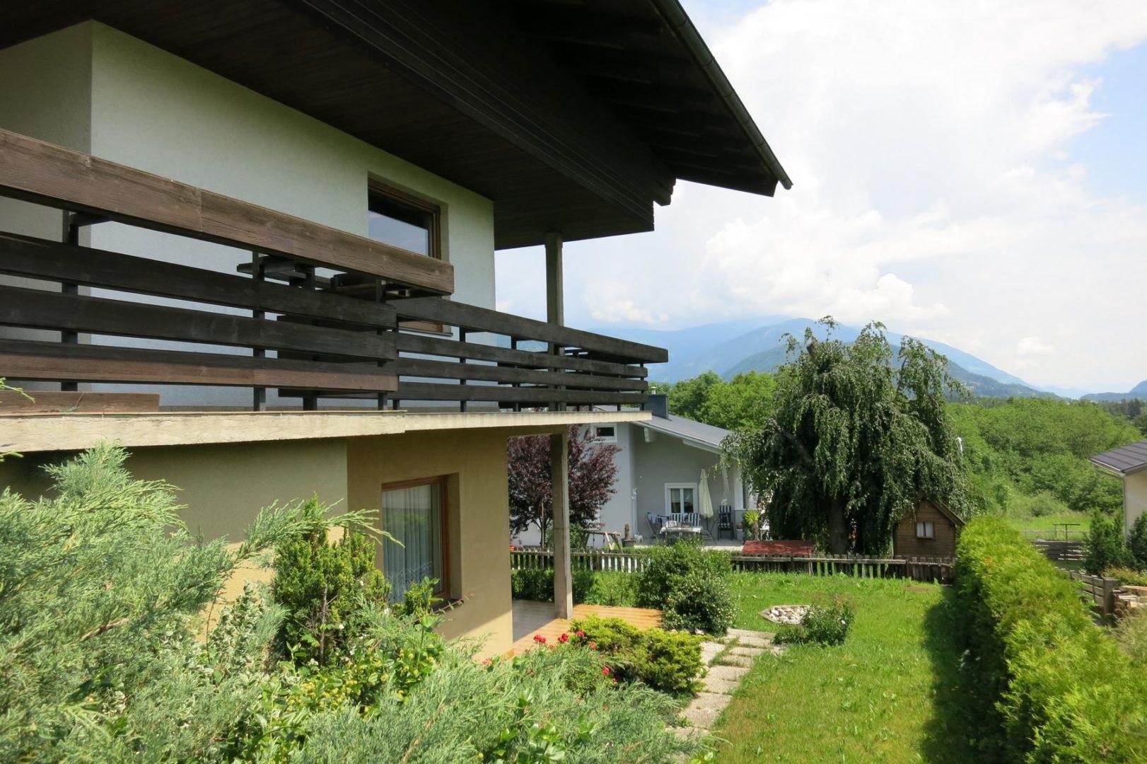 Garten-Mietwohnung Villach-St.Georgen